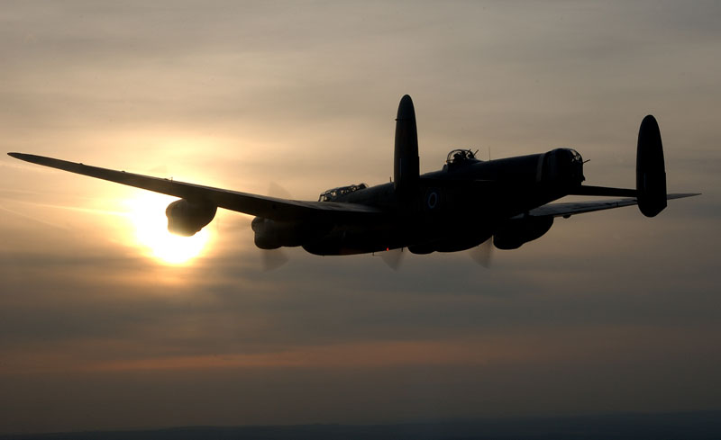 The world's last remaining Lancaster bombers will fly together this summer.