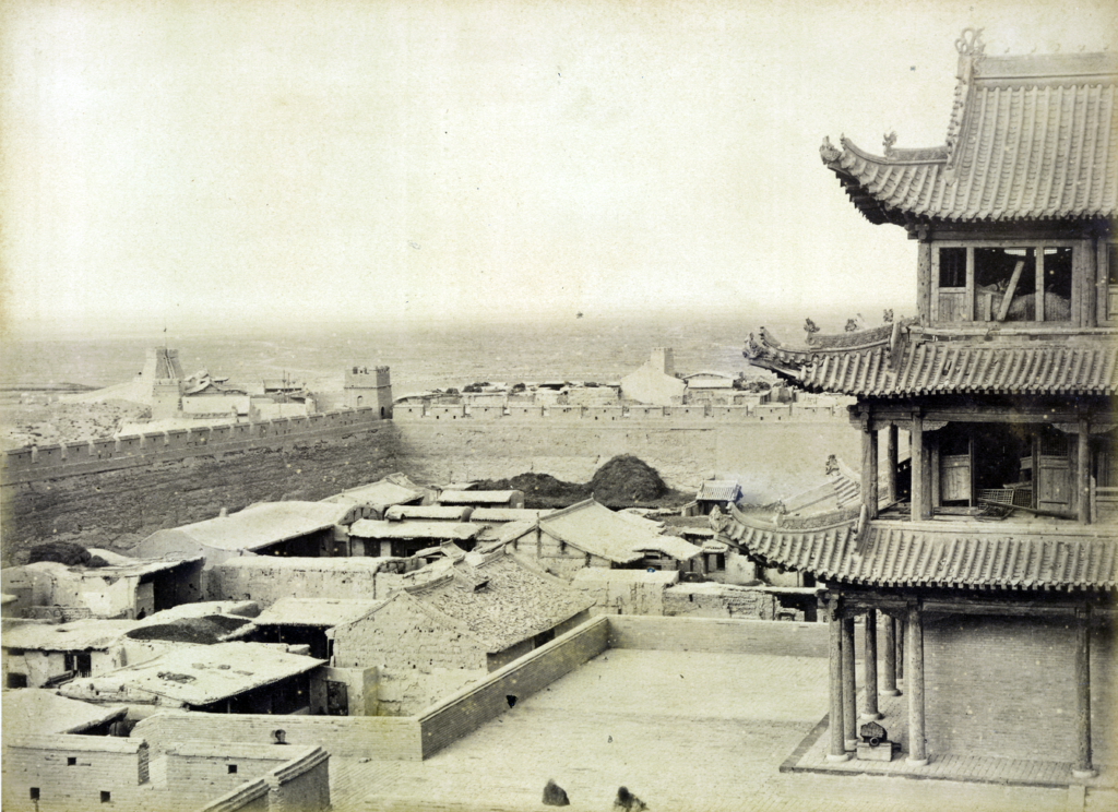 Guarding the Gobi Desert Frontier – Life at the Fortress of Jiayuguan in the 1920s - MilitaryHistoryNow.com