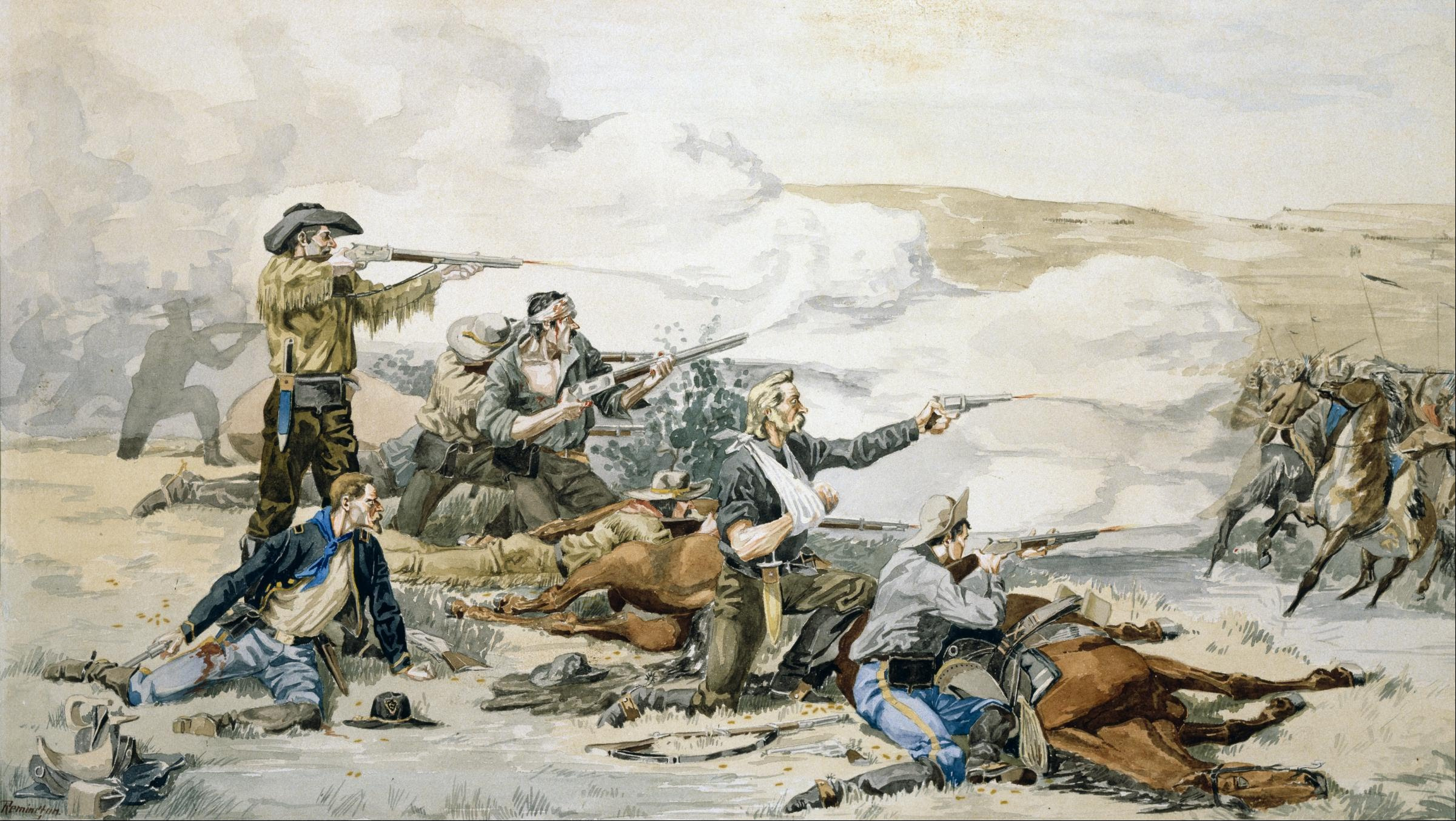 The Battle of Beecher Island — How a Small Frontier Clash Became a Harbinger of Decades of War on the American Plains - MilitaryHistoryNow.com